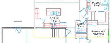Modern Ranch floor plans :: Main with Basement