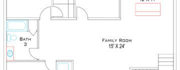 Redfern floor plans :: Basement